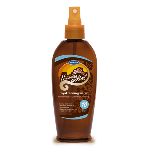 Top Ten Hawaiian Cocktail Royal Tanning Water