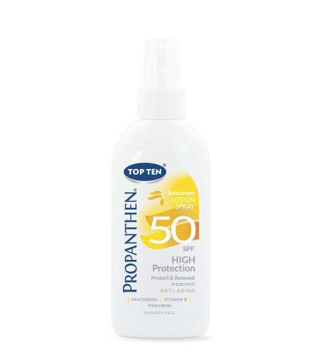 Top Ten Propanthen SUN Sunscreen SPRAY Lotion